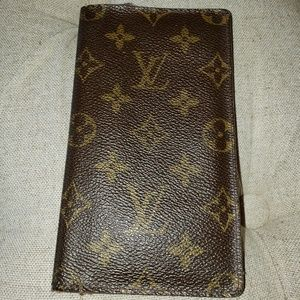 Louis Vuitton Check Book Holder